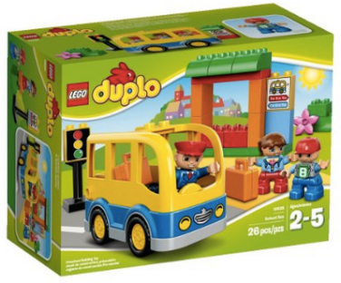 Lego Duplo Town School Bus Building Toy Set Only 999 Regularly