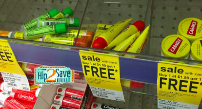 Carmex lip balm BOGO at Walgreens