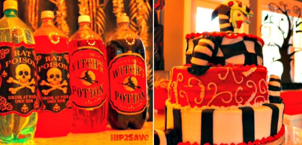 Halloween Soda & Cake