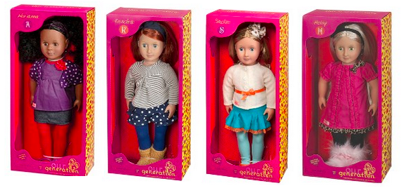 "Target: Our Generation 18"" Dolls"