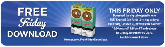 Free Kroger K-Cups