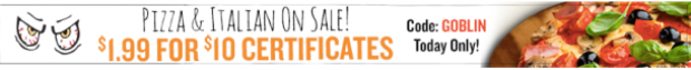 Restaurant.com: $10 Gift Certificate ONLY $1.99