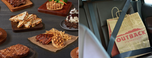 Outback Steakhouse: 15% Off Entire Lunch or Dinner Check