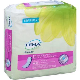 Tena Instadry Heavy Female Pads CVS