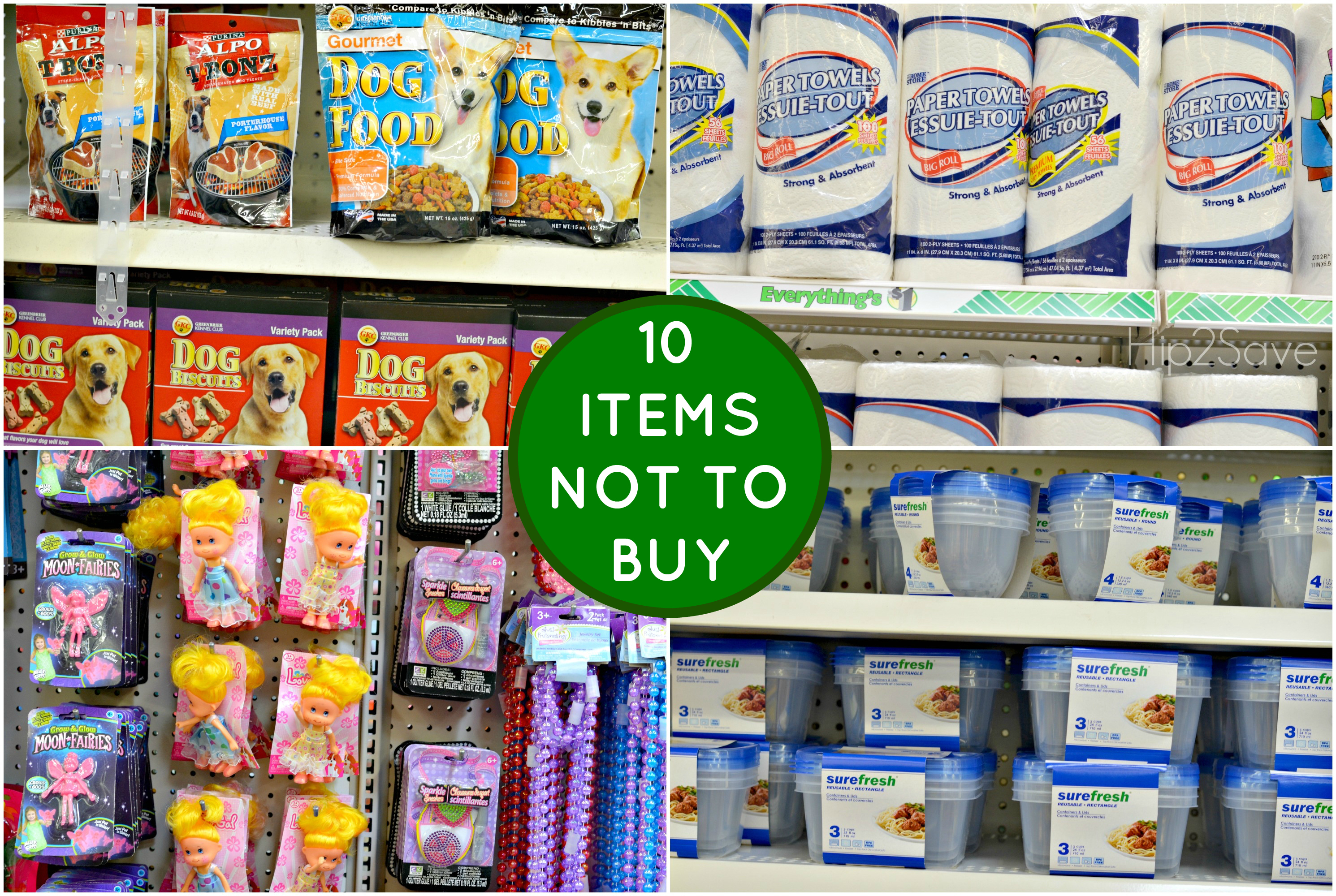 5 Things Not to Buy at Drugstores