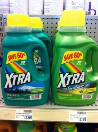 Xtra Laundry Detergent CVS