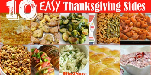 10 Easy Thanksgiving Side Dish Recipes
