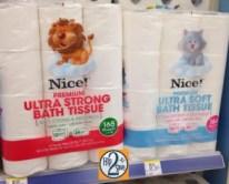 Nice bath tissue