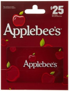 Applebee's Gift Card CVS