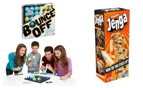 Bounce Off and Jenga