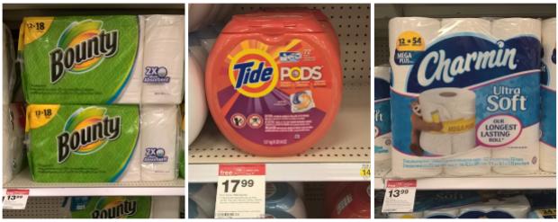 Bounty - Tide - Charmin at Target