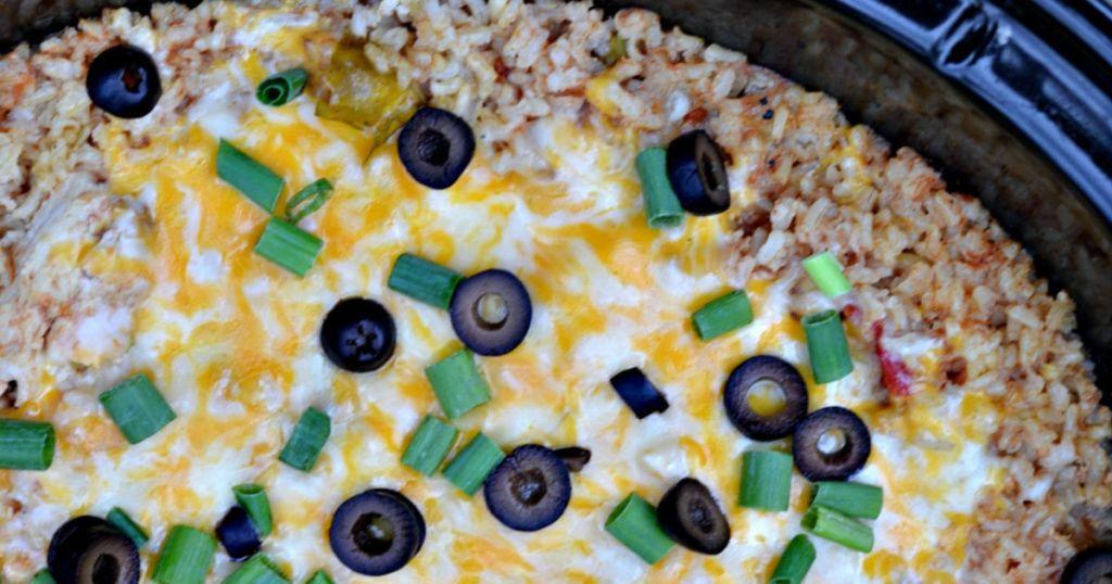 burrito rice bowl slow cooker recipe