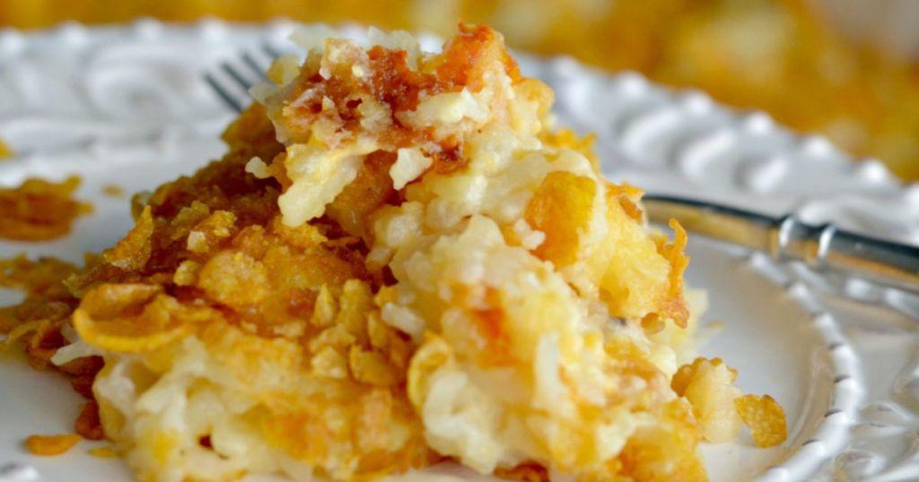 cheesy potato casserole