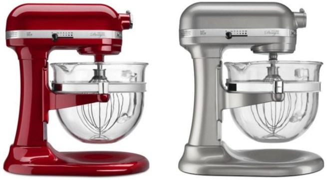 Amazon Kitchenaid 6 Qt Professional 600 Series W Glass Bowl