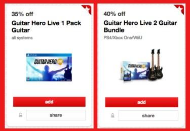 Target Guitar Hero