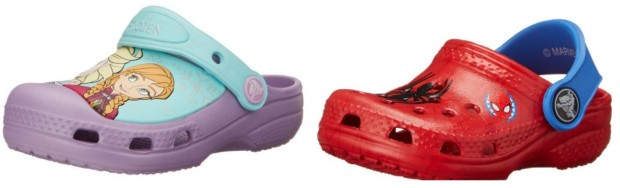 2c9f2e7bd Amazon  50% Off Crocs Today Only   Girl s Frozen Clogs  11.99 ...