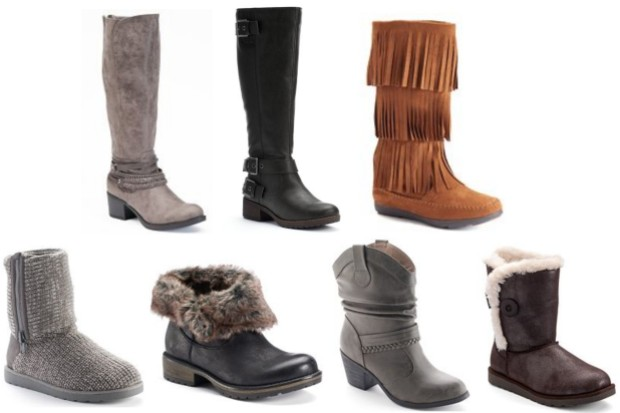 79969461341 Kohl s   HOT  Women s Boots  12.74 Per Pair Today Only (Regularly ...