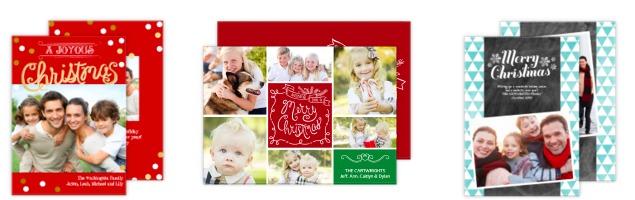 Custom Christmas Cards and Envelopes
