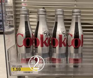 Diet Coke Aluminum Bottle