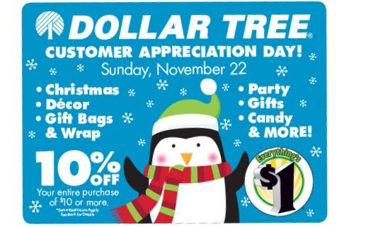 Dollar Tree 10 off Coupon