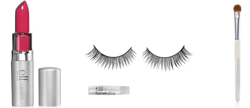 e.l.f. cosmetics $1 items
