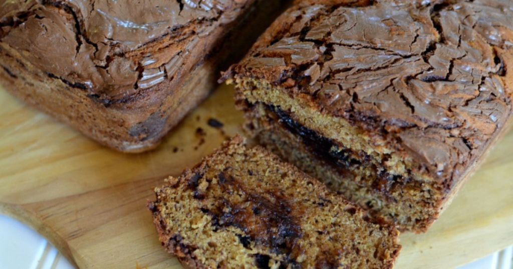 easy banana bread with nutella recipe