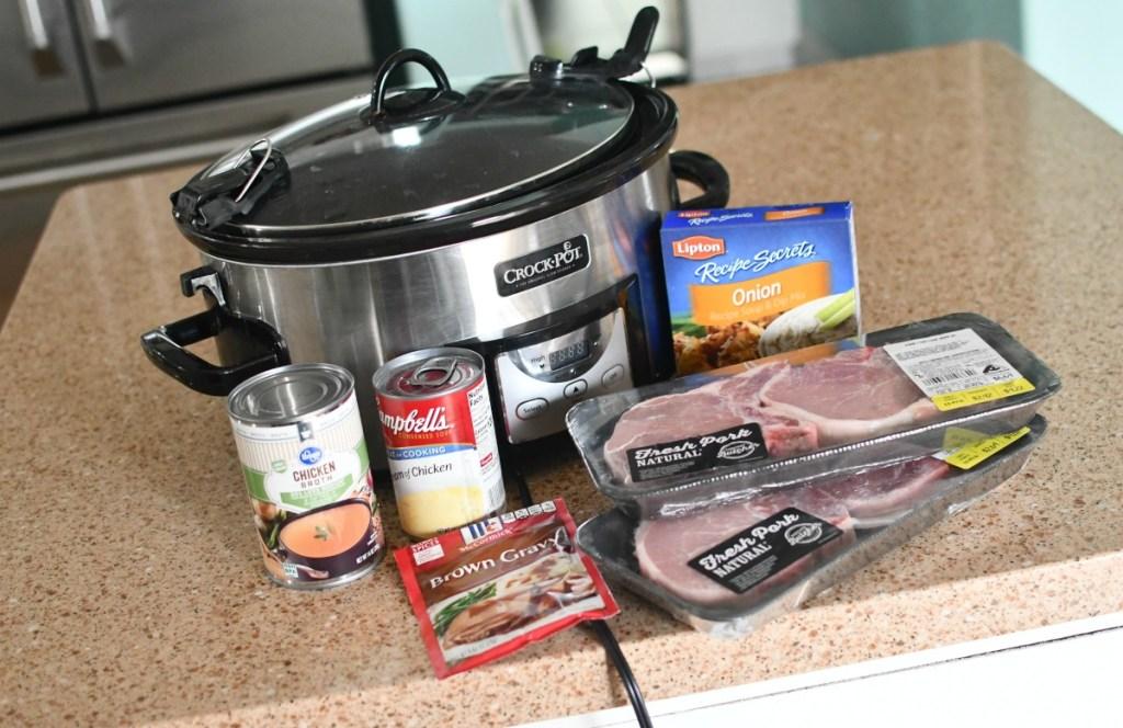 easy crock-pot pork chops
