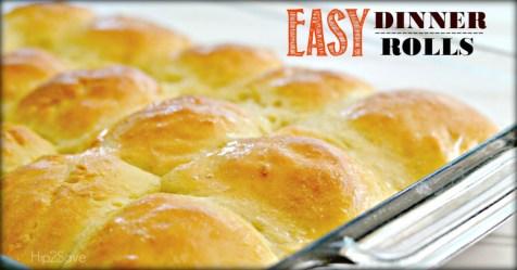 Easy Dinner Rolls Hip2Save.com