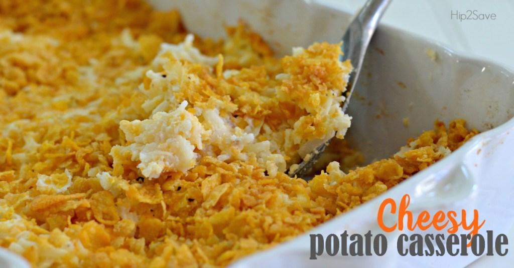 Easy Recipe for Cheesy Potato Casserole Using Frozen Hashbowns