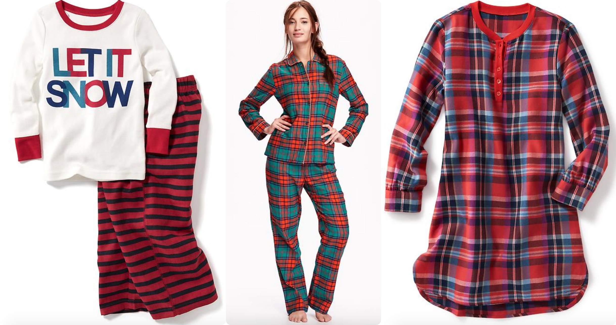 Old Navy: 50% Off Sleepwear for the Family - Hip2Save