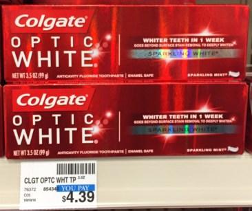Colgate Optic White 3.5 oz. CVS