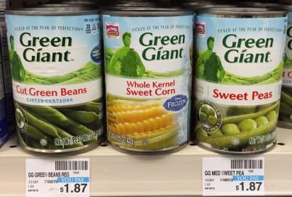 Green Giant Vegetables CVS