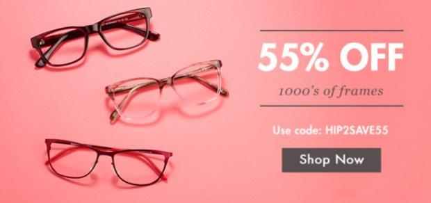 Glasses USA 55% Off