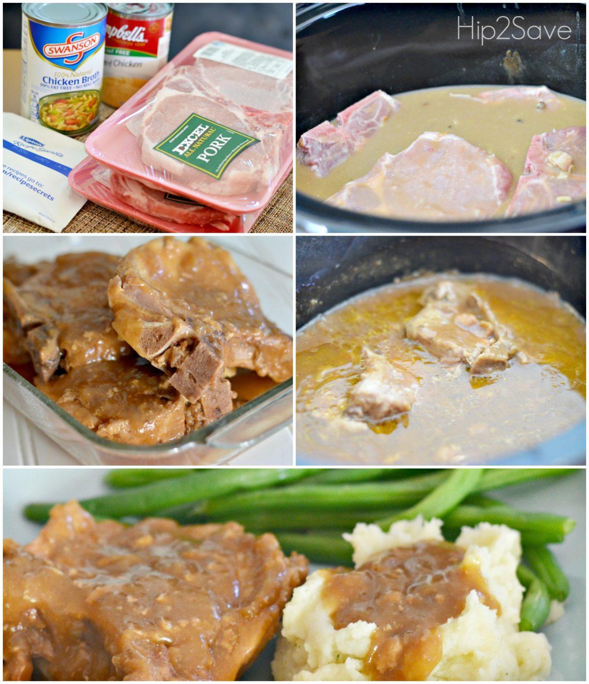 How to Make Amazing Smothered Pork Chops Hip2Save.com