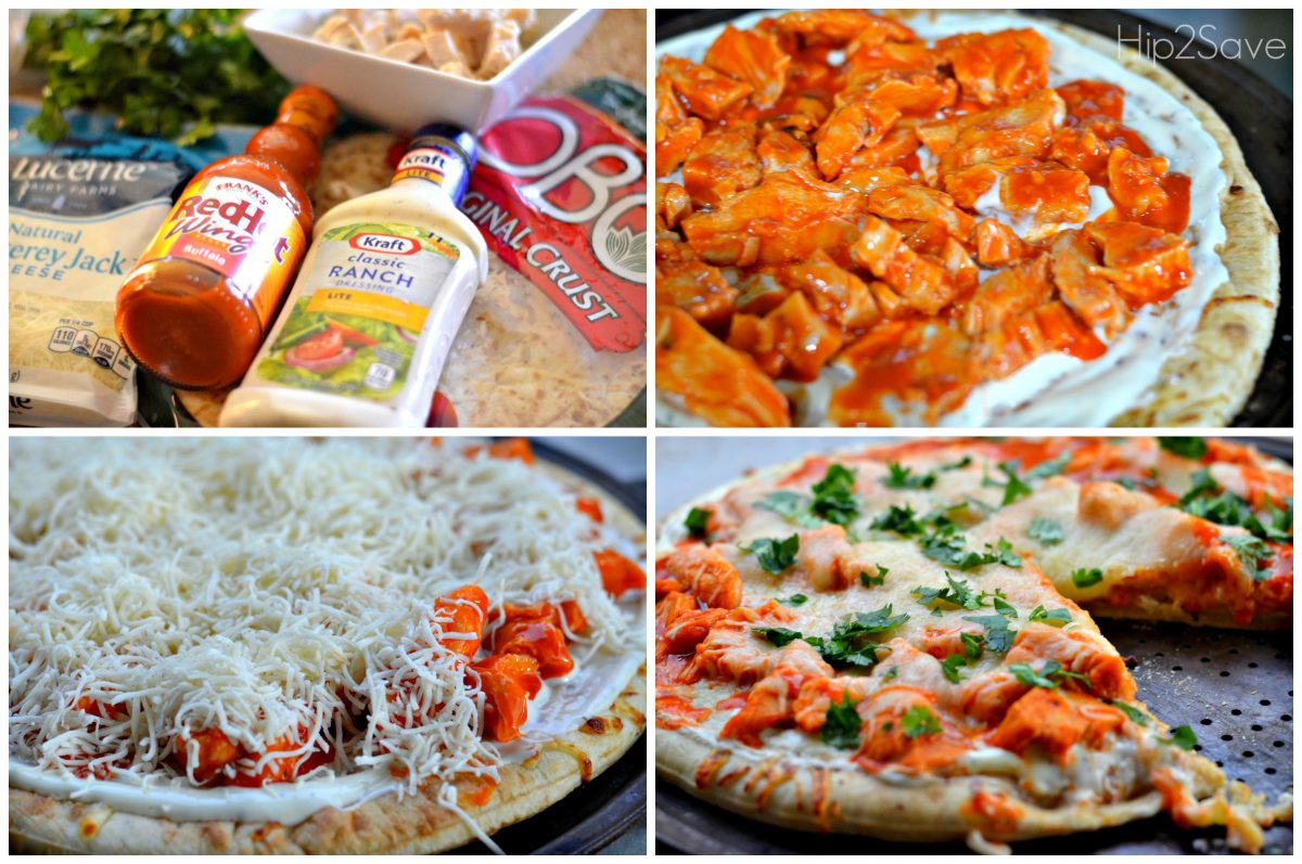 How to make Buffalo Wing Pizza Hip2Save.com