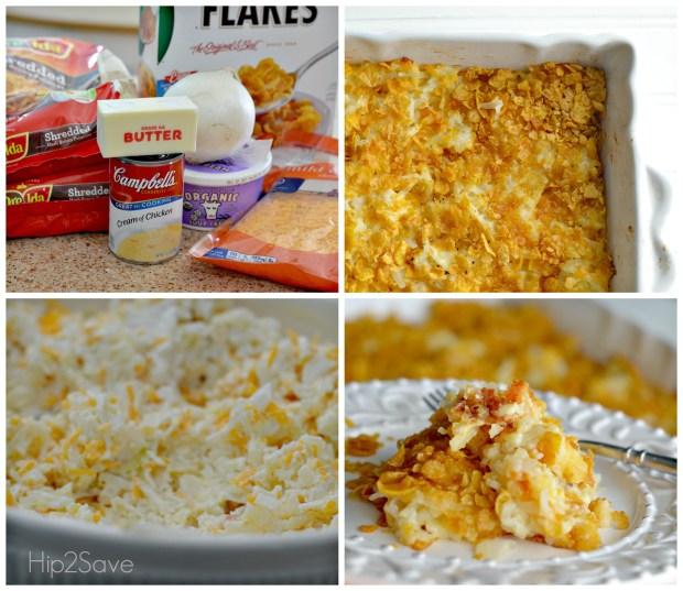 How to make Cheesy Potato Casserole Hip2Save.com