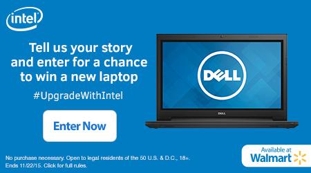 Intel Refresh Your PC Contest: Enter to Win Dell Inspiron Laptop