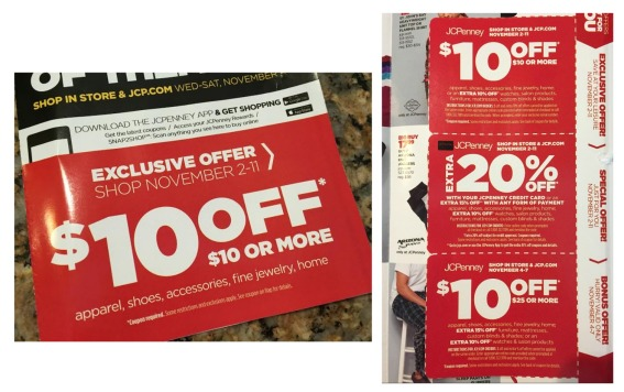 JCPenney Coupons November 2015