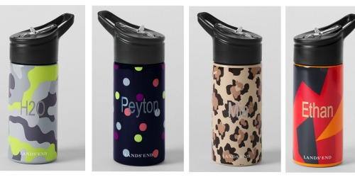 Lands' End: Water Bottles Only $3.49 Shipped + More (ENDS TONIGHT)