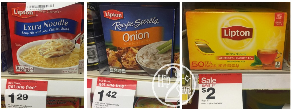 Lipton Product Target deals