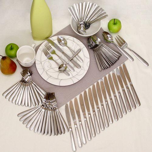 Oneida 82 piece flatware set