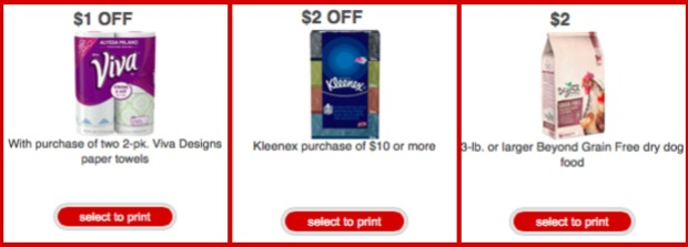 Target Store coupons