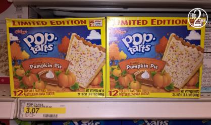 Pumpkin Pop-Tarts