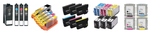 ComboInk: Buy 1 Printer Cartridge Pack and Get 1 Free