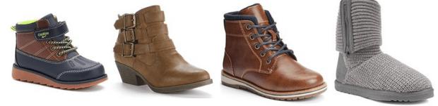 Kohl's Boot Sale