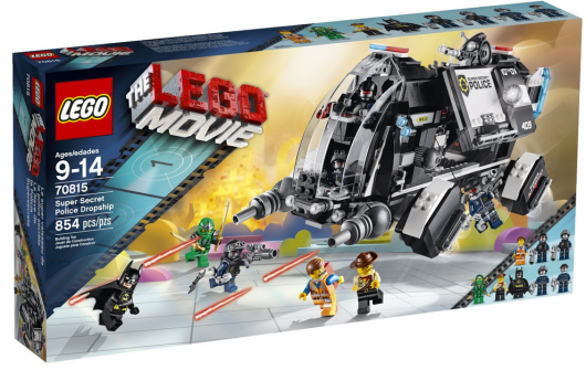 Lego Movie Super Secret Police Dropship Building Set Only 55 99 Shipped Reg 79 99 Hip2save