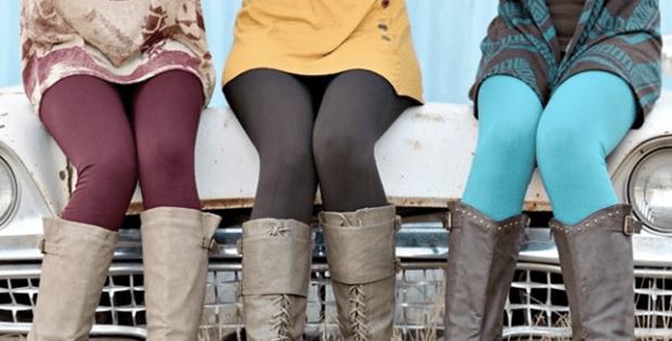 Jane Slimming Fleece Lined Leggings