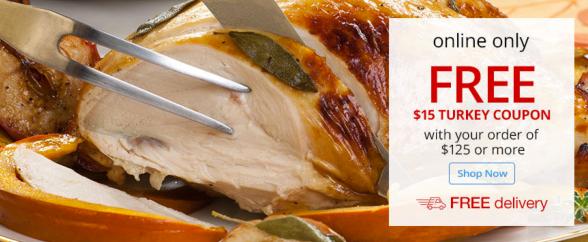 Free Turkey at OfficeMax