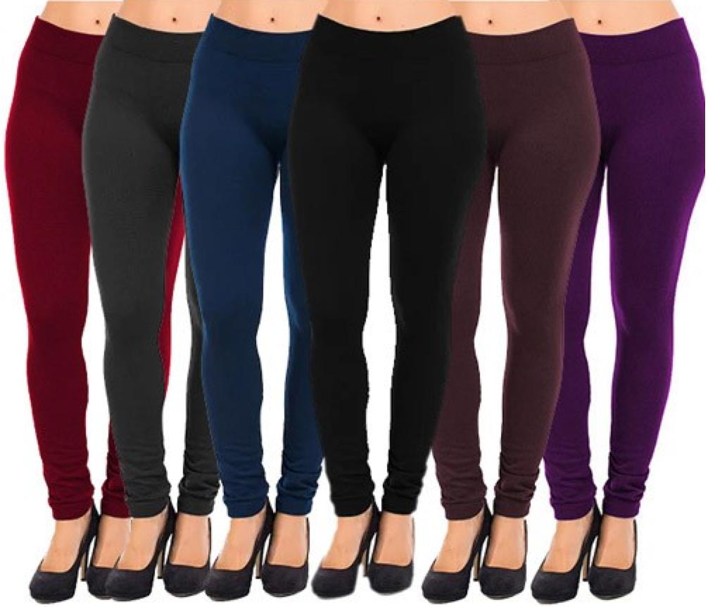 c163883c1 Women s Fleece Lined Leggings Only  3.99 Shipped - Hip2Save
