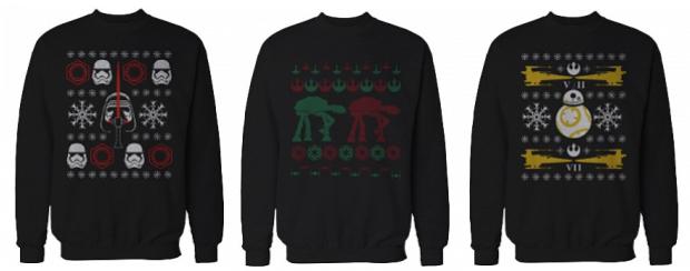 Star Wars Christmas Sweatshirts